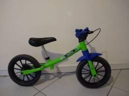 Bicicleta infantil Nathor sem pedal