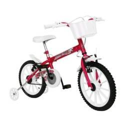 Bicicleta aro 16 está nova ela ficou pequena pra minha menina