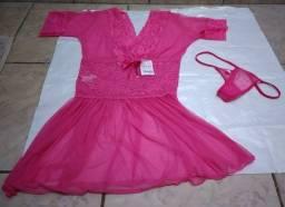 Lingerie  rosa