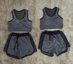 Conjunto ginástica adidas e Oakley