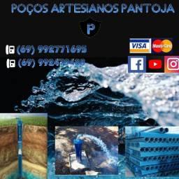 Poços artesianos PANTOJA