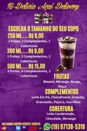 Açaí Delivery Cosmópolis