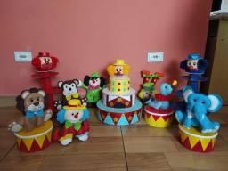 Kit Decoração festa infantil - Tema Circo
