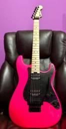 Guitarra Charvel Pink neon