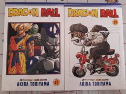 Dragon ball volumes 27 e 28 mangás