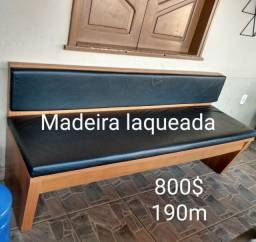 Banco acolchoado 1,90cm