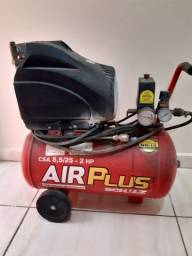 Motocompressor de Ar Air Plus 8,5 Pés 46 Litros - SCHULZ-CSI-8,5/50<br><br>