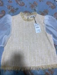 Blusa Zara TAM M