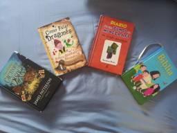 Livros variados (leia a descrição)