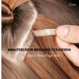 Manutenção Mega Hair Fita Adesiva