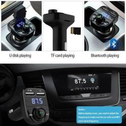 Carregador Veicular Bluetooth USB,MP3 Player