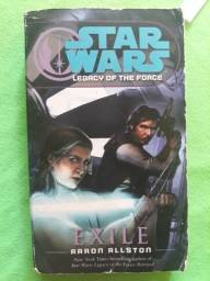 Título do anúncio: star wars: legacy of the force - exile