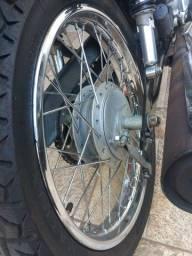 Troco rodas com raio ddl por de liga