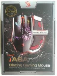 Mouse Gamer Bloody Blazing A6A 8 Botões 4000DPI Black