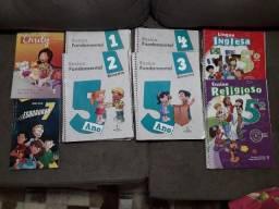 Livros Colegio Adventista 5° ano em ótimo estado. 250,00