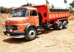 Caminhão truck basculante Mercedes 1313