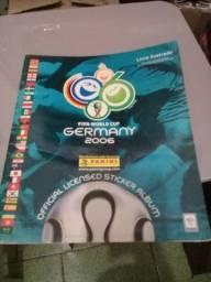 Album da copa 2006 alemanha incompleto