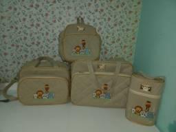 Bolsa de bebê safari