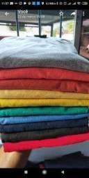 Camisas 100% algodão P