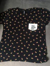 camiseta feminina de batata
