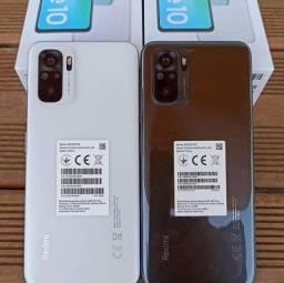 Xiaomi Redmi Note 10 - 128GB Rom ou 64GB Rom - Versão Global + Capinha e Película