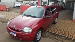 CLIO 2002/2003 1.0 RN SEDAN 16V GASOLINA 4P MANUAL