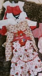 Lotinho de roupa menina