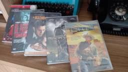 5 Dvds originais e  lacrados, 5 clássicos