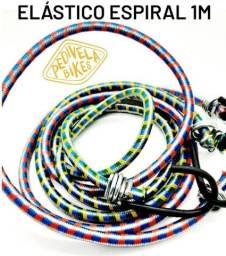 Título do anúncio: Elástico Espiral 1m Ponta Reforçada de Ferro