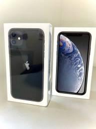 Iphone 11 novo e Iphone XR seminovo