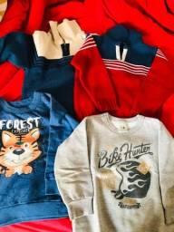 Vendo roupas de inverno menino
