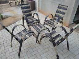 Cadeira de Fibra Sintético Jogo no Crediário