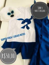 Fantasia super foca Lucas Neto