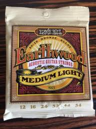 Encordoamento Violão Aço Ernie Ball Earthwood 012