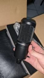 Microfone Profissional Audio Technica AT2020 XLR