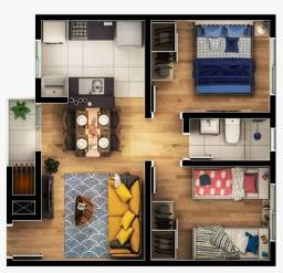 Apartamento 100% Financiado - Almirante Tamandaré