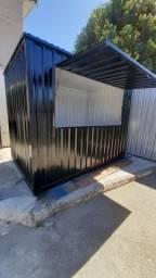 O container para lanchonete 4,00x2,45 por 2,30 de altura.