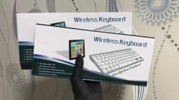 Teclado Keyboard Wireless/ Sem Fio Bluetooth Padrão Apple - ABNT