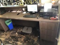Título do anúncio: Balcão e armário para escritório