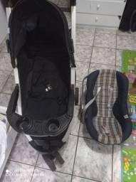 Vendo carrinho e bebê conforto com urgência