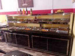 Self service,pista fria,pista quente,balcão para restaurante,buffet e outros