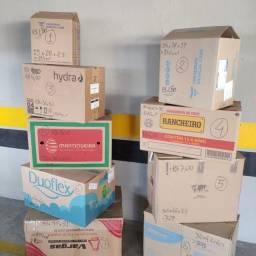Título do anúncio: Caixas de papelão reciclável