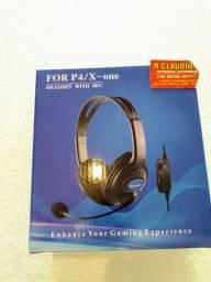 Fone para PS4