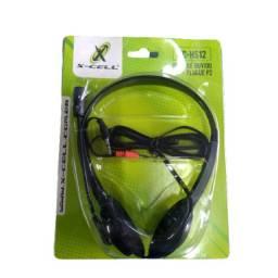 Fone de Ouvido Headset com Microfone P2 XC-HS12 X-CELL - Imperium Informatica