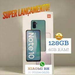 C/ Nota FISCAL é AQUI! Xiaomi NOTE 10 128GB 6Ram / Novo Lacrado GARANTIA / GLOBAL