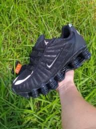 Nike Shox 12 molas refletivos