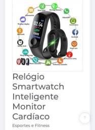 Relógio smartwatch inteligente