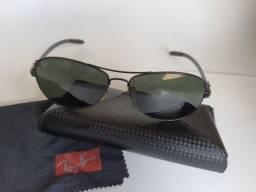 Ray-Ban Polarizado Tech RB8301 002/N5 59 - Óculos de Sol