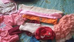 Lote roupas menina tm 1