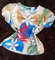 Blusa estampada da Monteiro